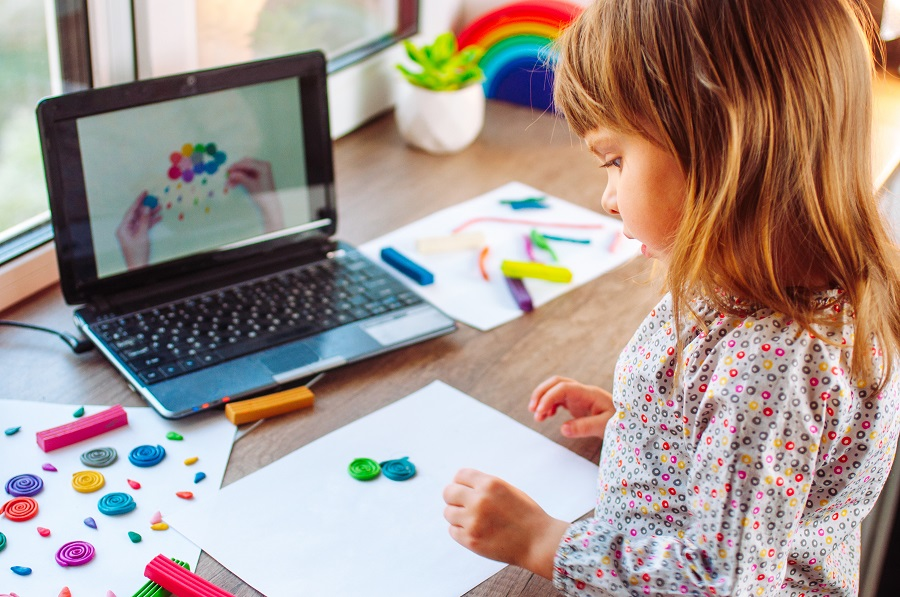 online w przedszkolu